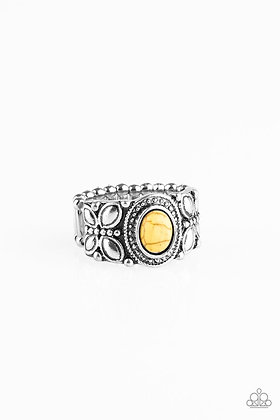 Butterfly Belle Yellow Ring - Item # R1061