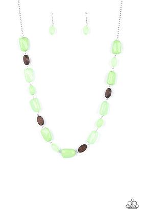 Meadow Escape Green Necklace - N1430