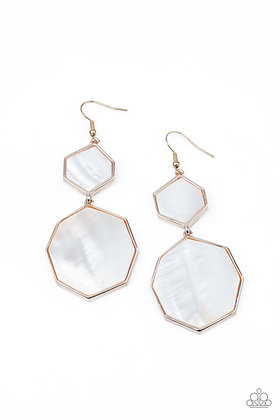 Vacation Glow Rose Gold Earring - E1406
