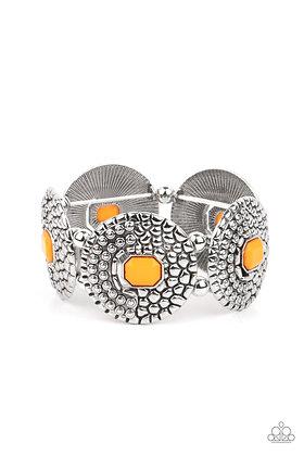 Prismatic Prowl Orange Bracelet - B1431