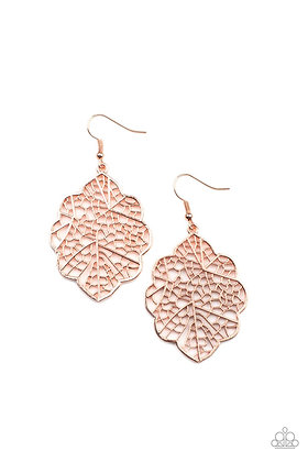 Meadow Mosaic Copper Earring - E1422