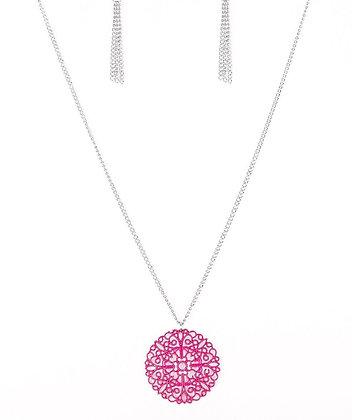 Midsummer Musical Pink Necklace - N1153