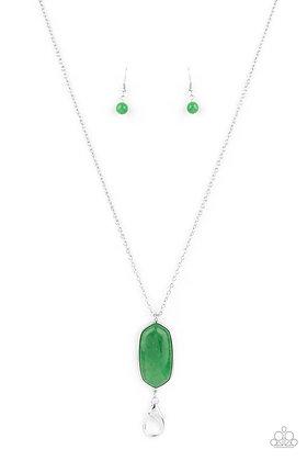 Elemental Elegance Green Necklace - N1342