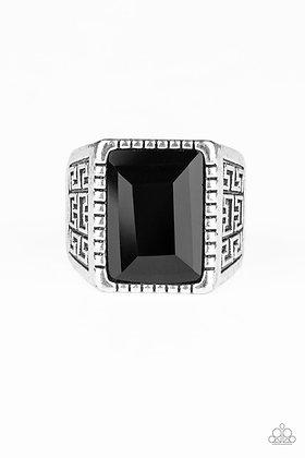 Winning Attitude Black Ring - R1359