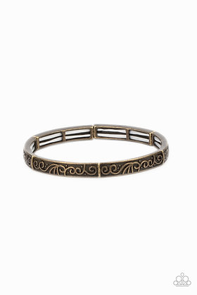 Precisely Petite Brass Bracelet - B1358