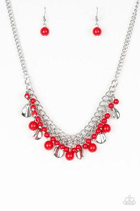 Summer Showdown Red Necklace - Item N1217