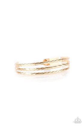 Eastern Empire Gold Bracelet - B1378