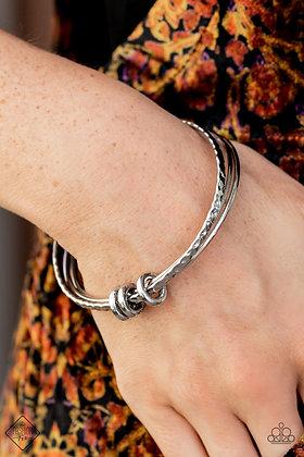 Bauble Bash Silver Bracelet - B1500