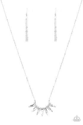 Empirical Elegance White Necklace