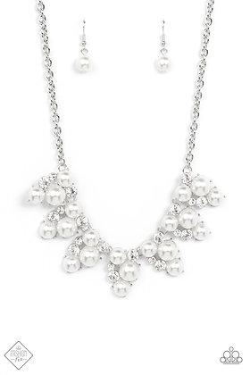 Renown Refinement White  Necklace - N1485