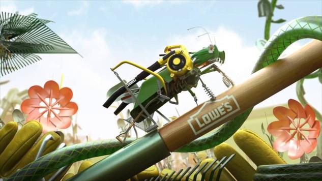 TROIKA | TBS / Lowe's: Lawnbots
