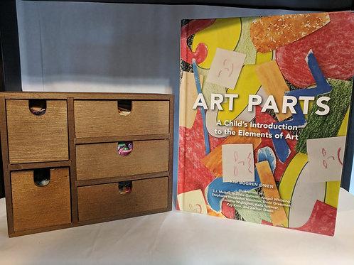 'Art Parts' Book and Box Bundle