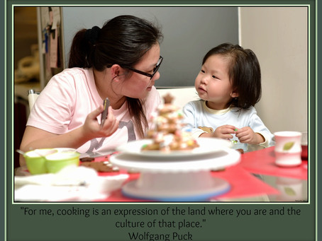 Come Together, Cook Together: Sharing Culture Through Food