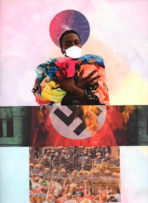 No meio do racismo, tinha um vírus