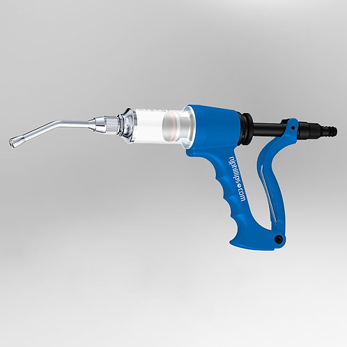 Phillips Blue 30ml HFV Variable Dose Drencher with 100mm Nozzle