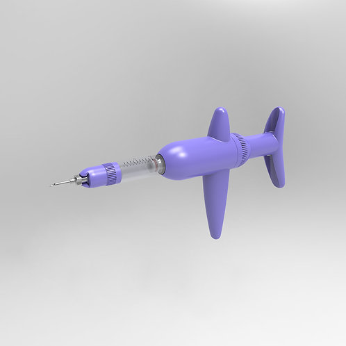 Simcro Compact Purple 2ml Variable Dose Tube Fed Injector