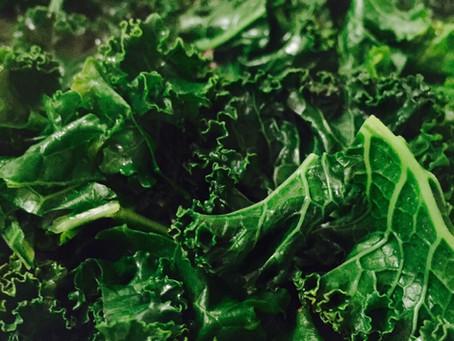 Bone Broth-Wilted Kale