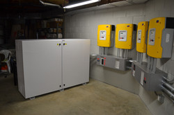 inverter system with battery enclosure
