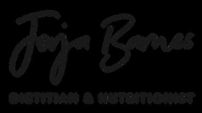 Jorja Barnes - Dietitian Nutritionist Logo