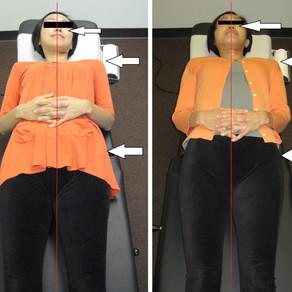 アジャストメント直後に姿勢や重心加重が変わるわけ