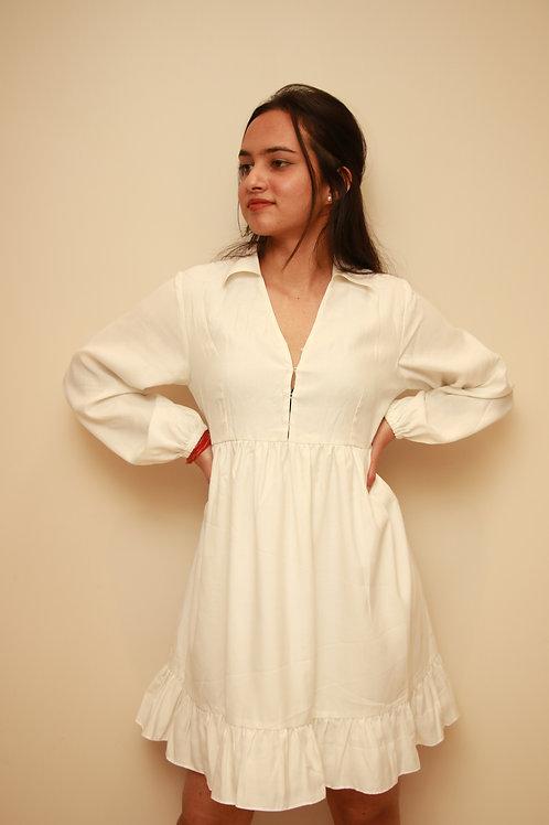 Off-White Summer Dress