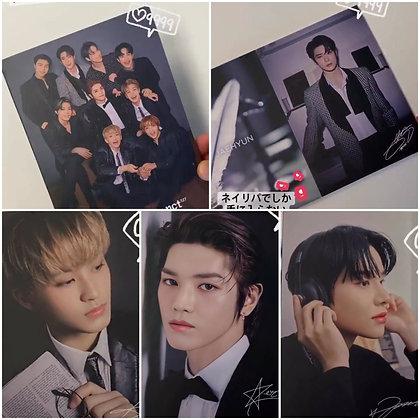 NCT 127 × NR Postcard book