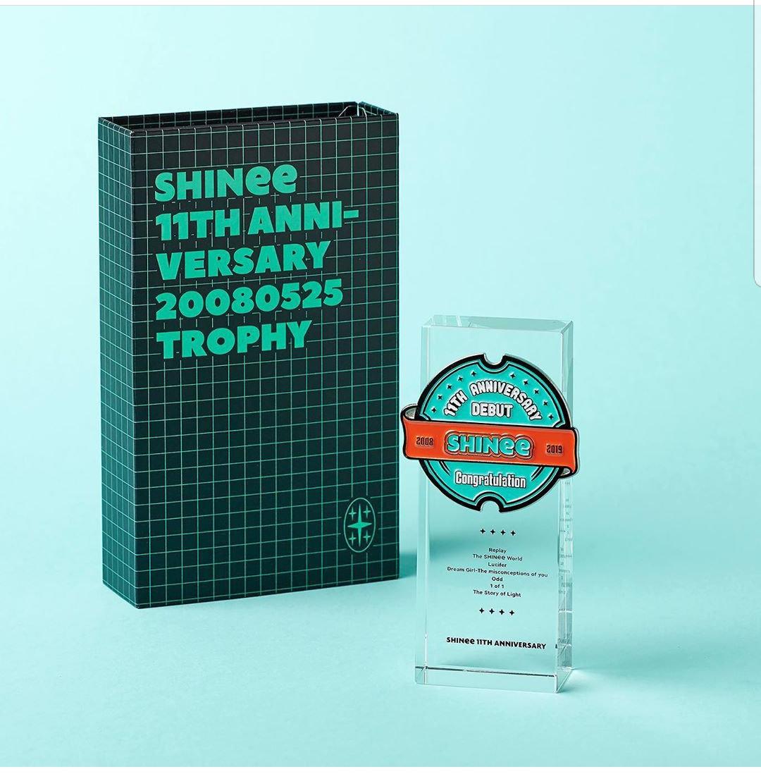 SHINee 11th Anniversary Goods | NeDongsaeng Shop