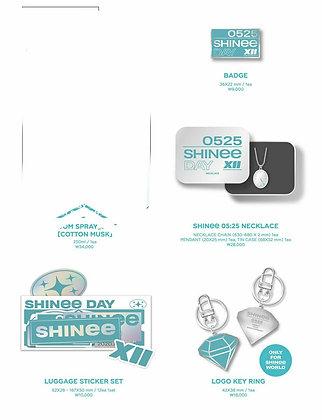 12th SHINee Day Goods