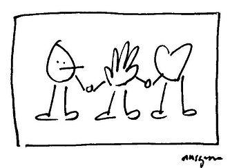 Heart Hand Head