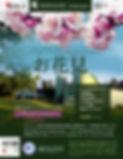 Hanami Spring Picnic Flyer - Japanese