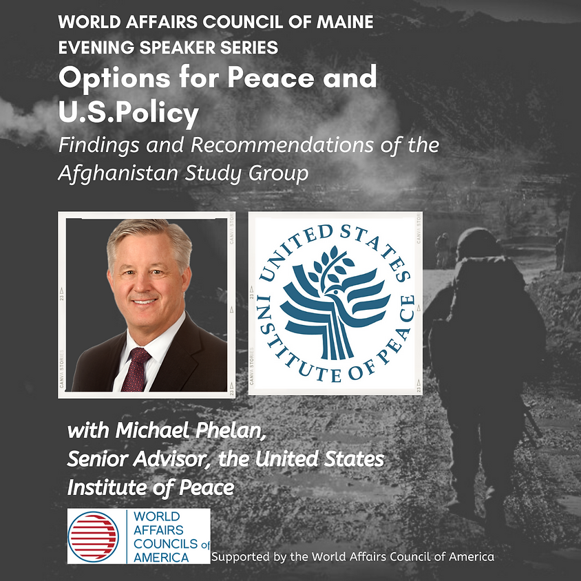 Michael Phelan, Director of the Afghanistan Study Group