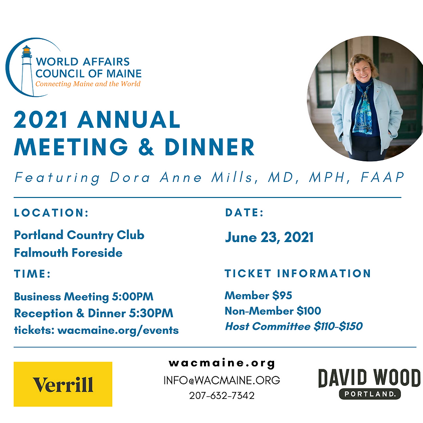 2021 Annual Meeting with Dora Anne Mills