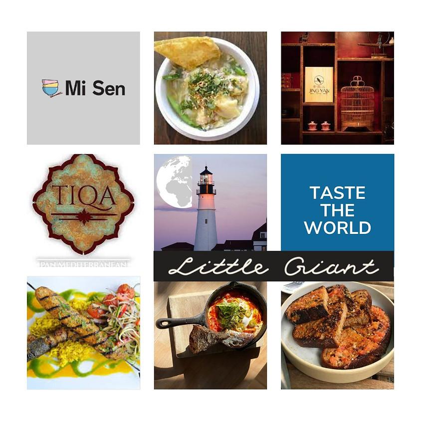 Taste The World Restaurant Raffle