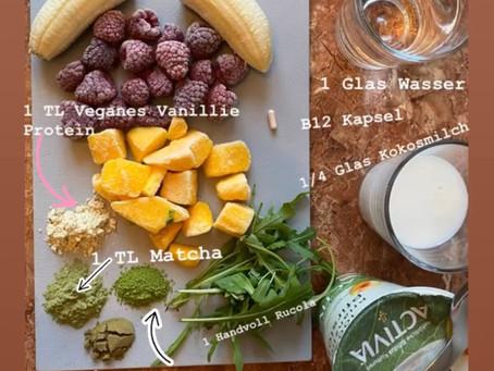 Smoothies - Eine volle Mahlzeit