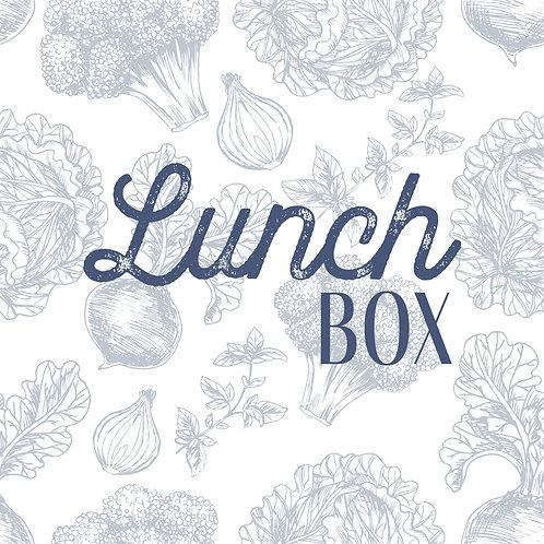 Menu lunch - Semaine 49