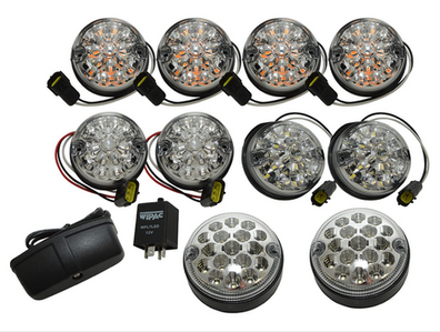 Wipac led lamp kit clear