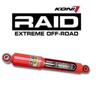 Koni raid shocks