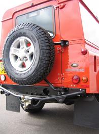 Mantec spare wheel carrier