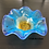 Thumbnail: Turquoise Floral Bowl