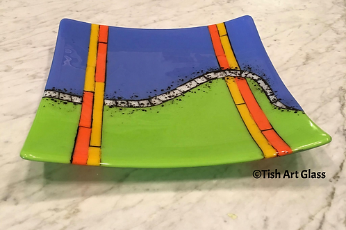 Multicolor Platter