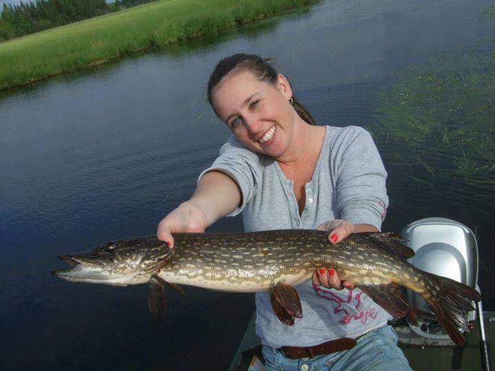 pike fisherwoman