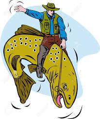 riding fish