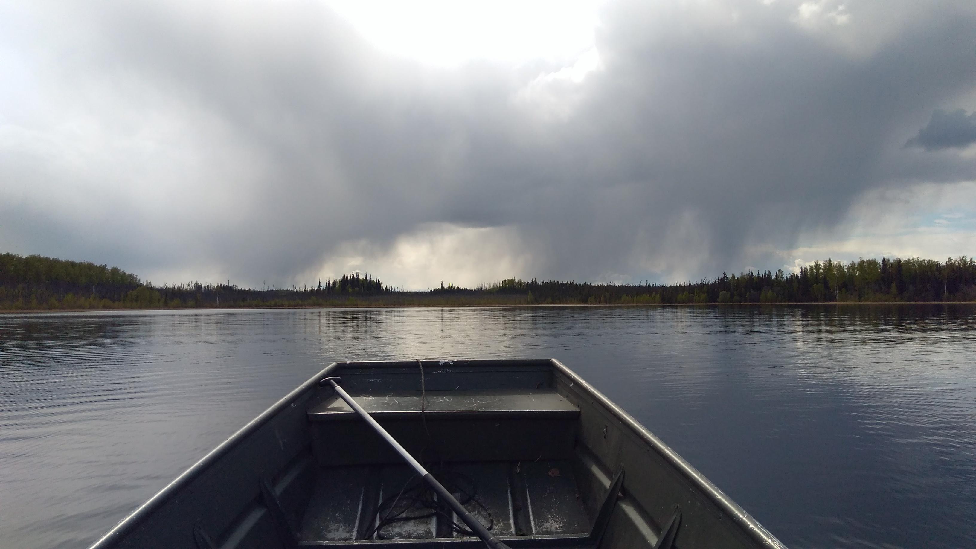 Rain in the distance at Geskakmina
