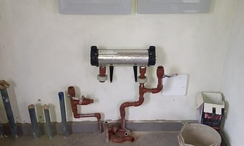 Sistema de calefacción domiciliaria - Cafayate