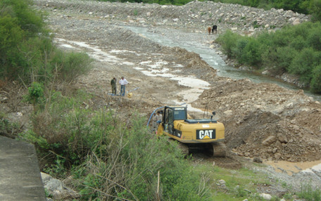 Encauce Río Santa Rufina