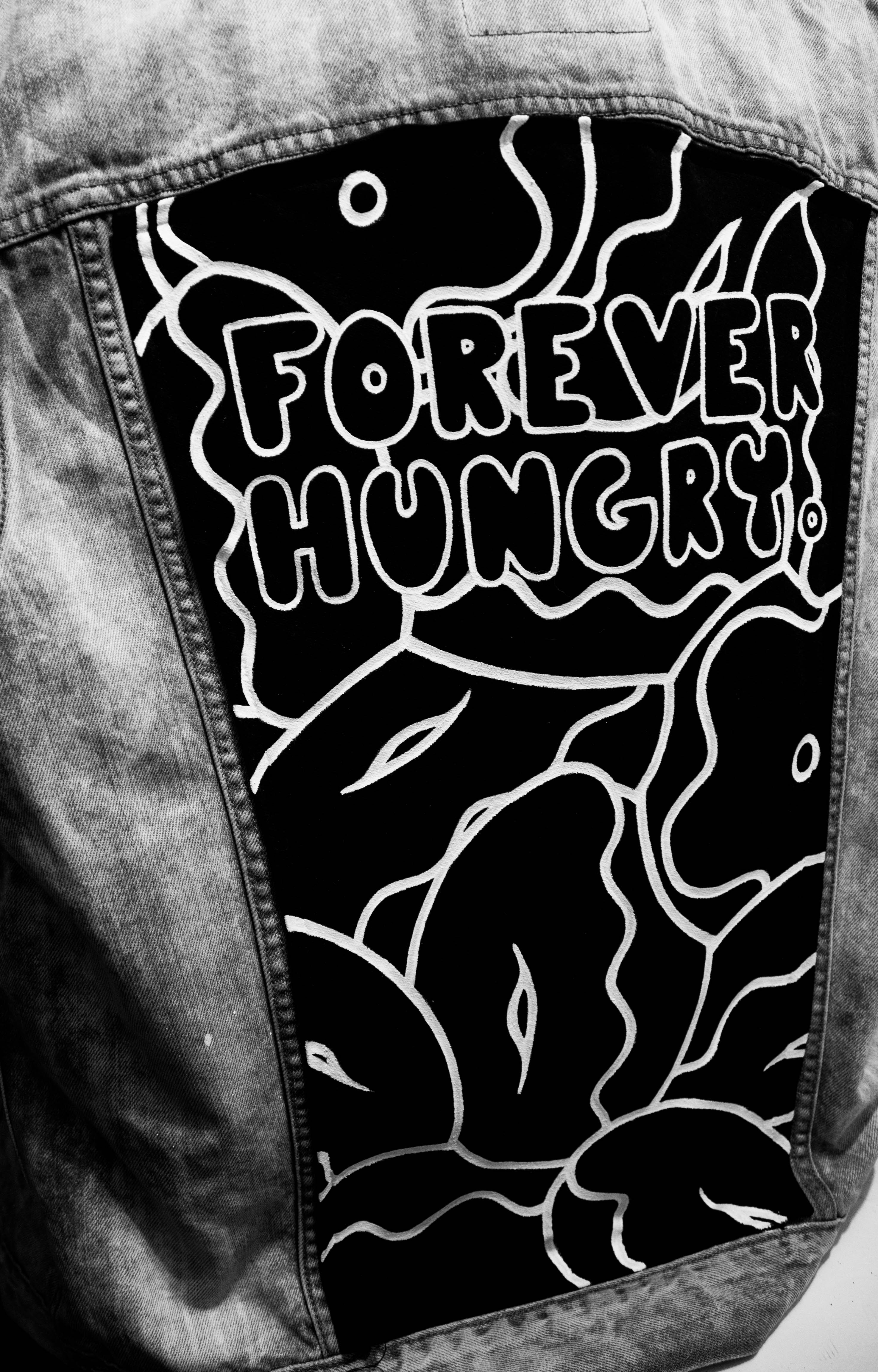 FOREVER HUNGRY JEAN JACKET