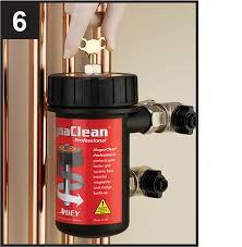 Install Magnaclean filter