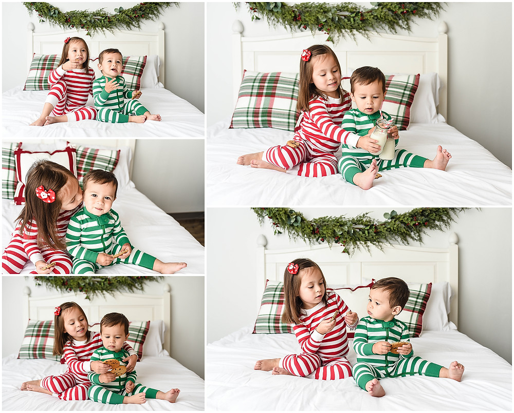 Lindsay Chan Photography, Naperville Photographer, Naperville Mini Session, Holiday Mini Session, PJ Mini Session, Christmas Mini Session, Naperville Photography Studio