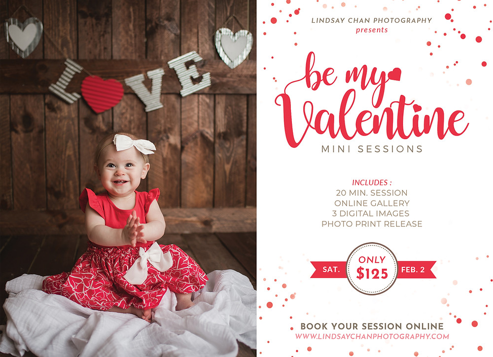 Naperville Valentines Day Mini Sessions, Naperville Studio Photographer, Naperville Studio