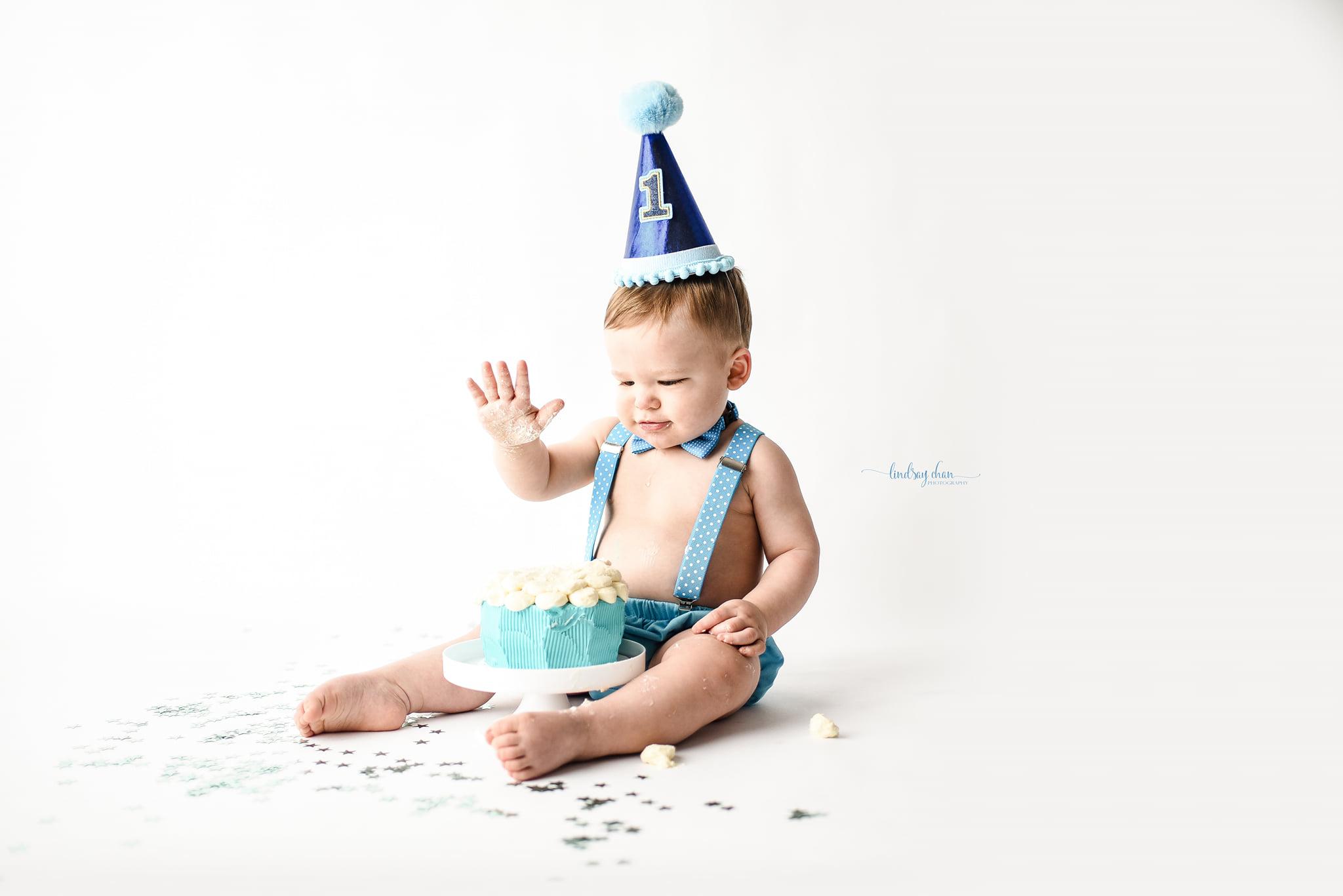 Naperville Cake Smash Photographer